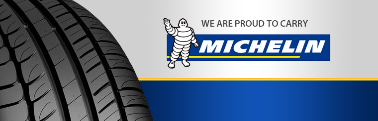 We are proud to carry Michelin® tires. Stop in today or click here to browse online.
